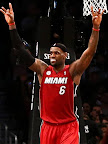 lebron james nba 130130 mia at bro 13 LeBron Torches Nets in Angry Mode. Debuts LeBron X No. 17!