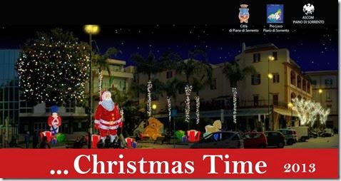 Ricostruzione grafica Villaggio di Babbo Natale Piazza Cota