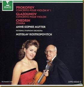 Prokofiev concierto violin 1 Mutter Rostropovich