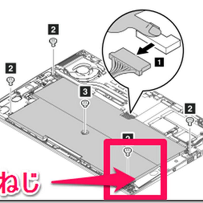 ThinkPad X1 Carbon Gen.2 (2014) のタッチパッドを換装した