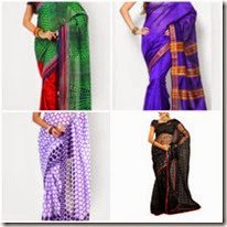 Jabong : Buy Sarees At Flat 50% + Extra 28% off on no minimum purchase