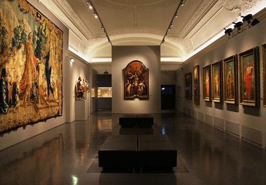 Gloria Ishizaka - museu de são roque - sala do museu