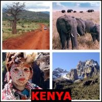 KENYA- Whats The Word Answers