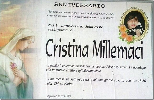 Millemaci Cristina Anniversario