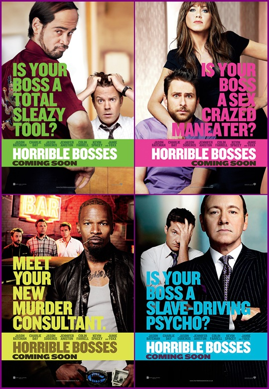 horrible bosses banners