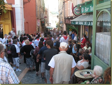 Olivenfest - lots of people