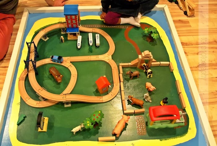farm and train