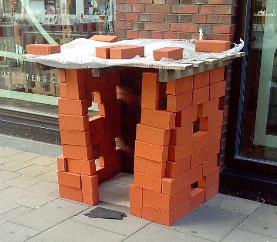 Baukunst im Street Art Blog