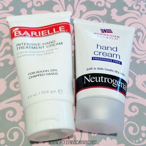 My favorite winter Hand Creams from Neutrogena and Barielle