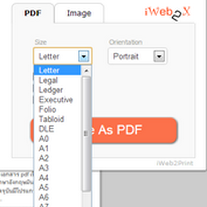Create pdf and image from webpage on Google chrome