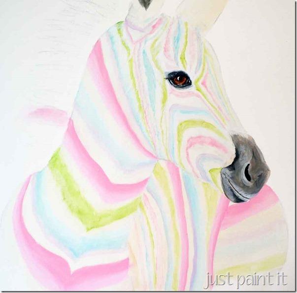 Zebra-Painting-D