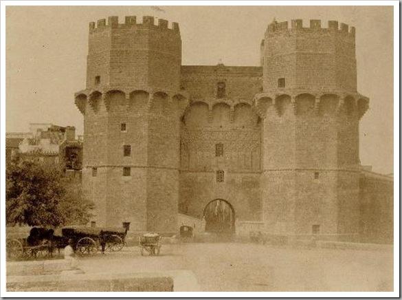 torres de serranos_murallas 1853