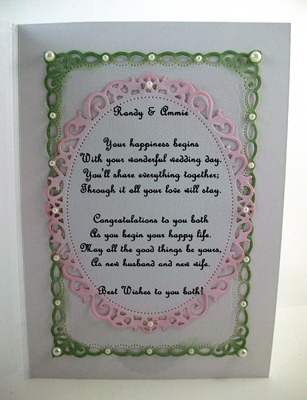 Delicate Roses Wedding Card1