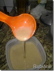 leite condensado aveia