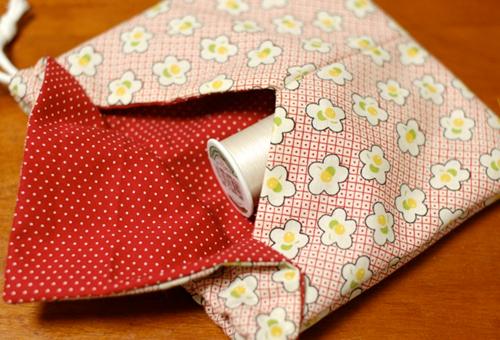 bolsinha origami