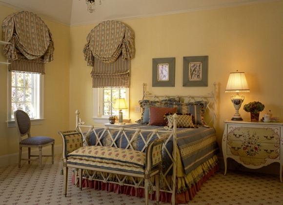 15 ideas de decoraci n de dormitorios con estilo campestre for Sillas para habitacion