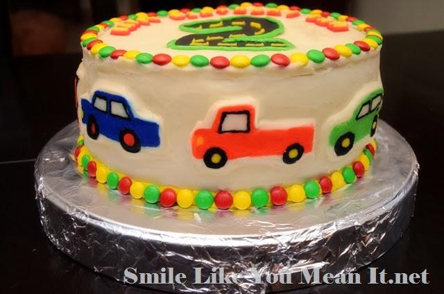 Car Cake Side 3