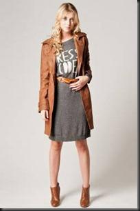 manteau sport cuivre