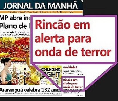 JM-terror no Rincão