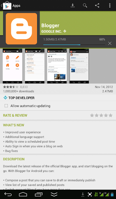 Blogger Dalam Genggaman (for Android)