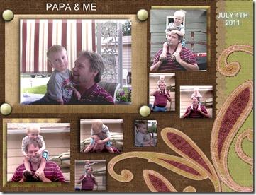 PAPA & ME - Page 001