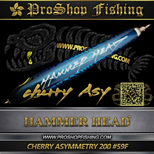 hammerhead CHERRY ASYMMETRY 200 #59F.2