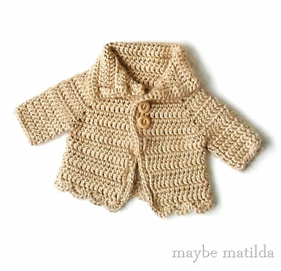 Win this sweet little hand-crocheted baby sweater!