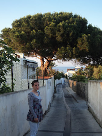 Imagini Sicilia: Stromboli - La plimbare pe bulevarde