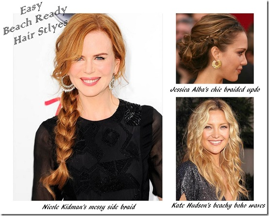 Easy Beach Ready Hair Styles