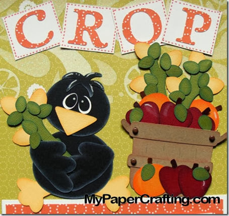 crow holding cornstalk-450