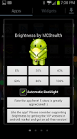 Screenshot of Brightness Easy