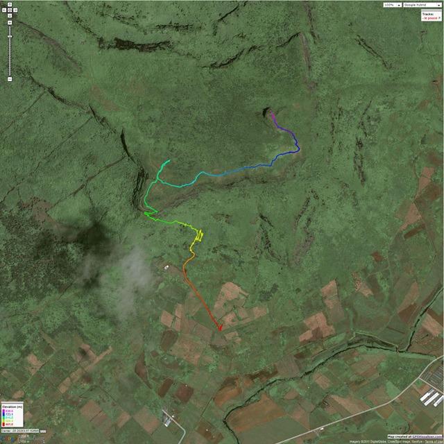 GPS - Le Pouce Trail