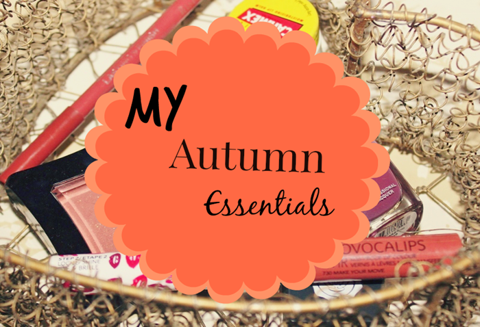 my autumn essentials the blushing giraffe