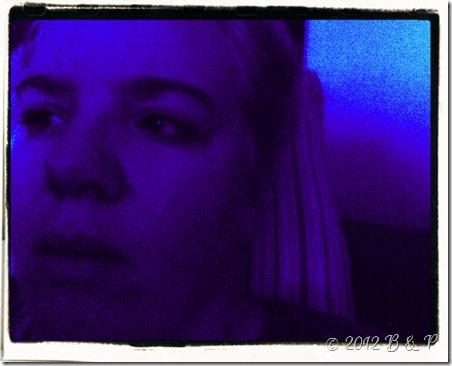 Blue w. frame