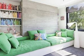 sillon-verde-de-diseño