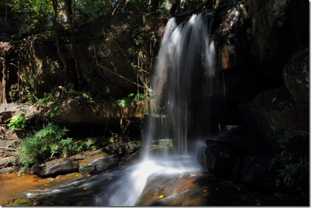 Waterfall on the Siem Reap River