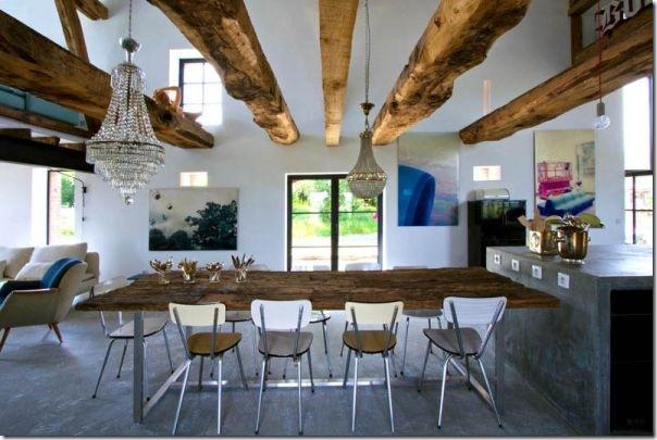 case e interni - Borgogna - rustico - moderno (4)