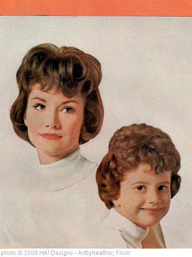 'Good Housekeeping 1964 - Mother/Daughter Hairdos!' photo (c) 2008, HA! Designs - Artbyheather - license: http://creativecommons.org/licenses/by/2.0/