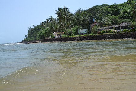 La Mare in India: Baga beach in Goa