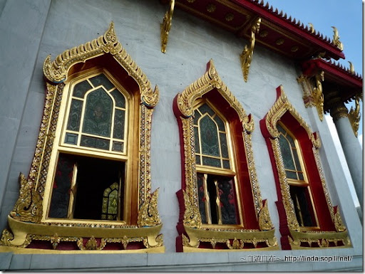 泰國曼谷-大理石寺建築
