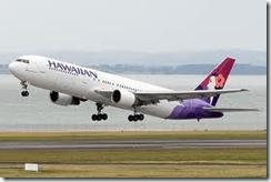 ハワイアン航空コナ羽田