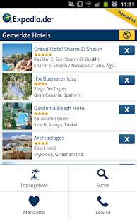 App Expedia – Pauschalreise APK for Kindle