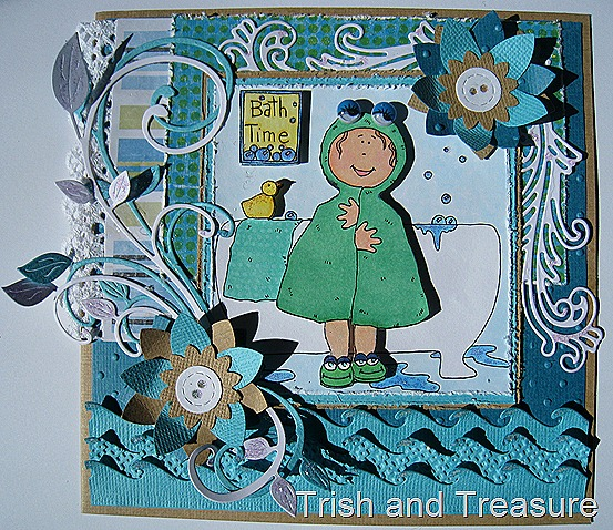 Children's Bath Time Card 001
