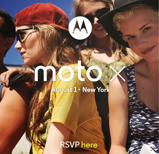 Moto x invite