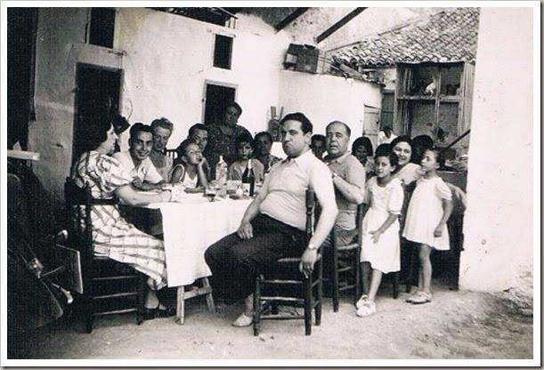 Comida familiar. Benicalap, Beniferri 1937