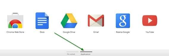google-chome-applicazioni