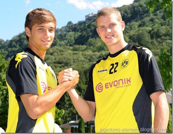 Moritz Leitner e Sven Bender