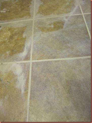 "How I ""Tiled"" My Floors on the Cheap-Trafficmaster Ceramica Tiles"