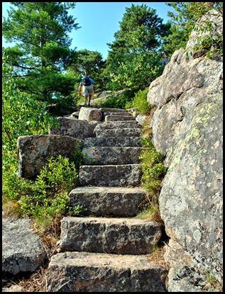 02m - Emory Path -  last steps on Emory Path