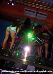 Esposas no palco da LV